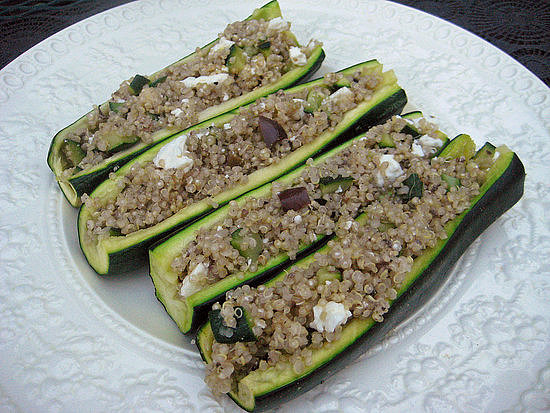 Quinoa-Stuffed Boats | Too Good to Squash: 11 Healthy Zucchini-Filled ...