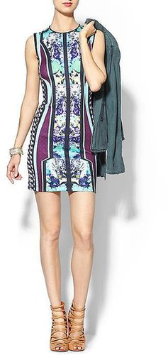 Clover Canyon Graphic Flowers Dress