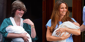 Kate Channels Princess Diana For Her First Post-Baby Appearance!