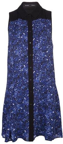 Proenza Schouler microprint shirt dress