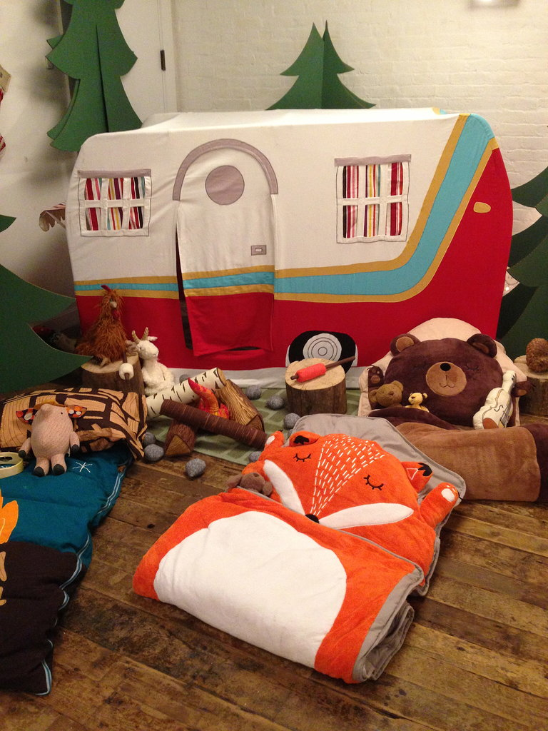 Let's go glamping! This collapsible play camper was one of our favorite finds.