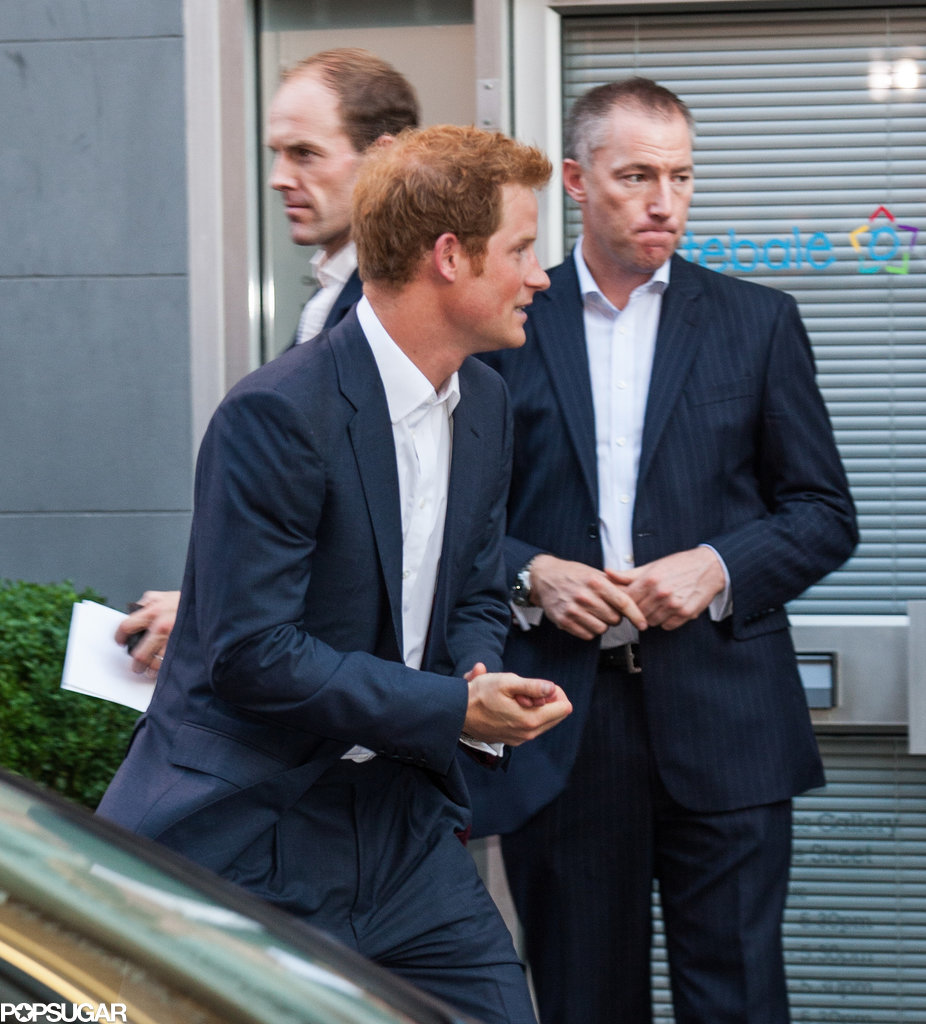 "Uncle on Duty: Prince Harry Says He'll Teach Prince George How to ""Have Fun"""