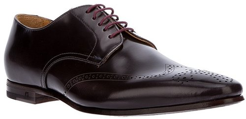 Paul Smith punch hole derby shoe