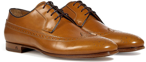 Paul Smith Shoes Lark Tan Leather Brogues