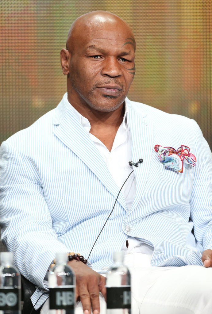 Mike Tyson was at the TCA Summer Tour stop in LA to talk about HBO's Mike Tyson: Undisputed Truths.