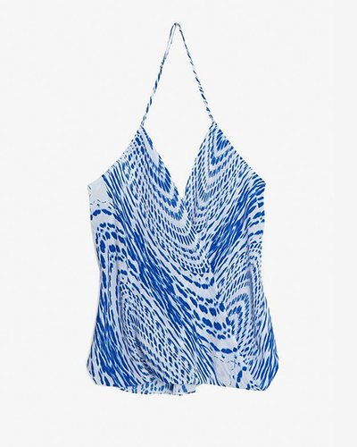 Chelsea Flower Exclusive Halter Wrap Top