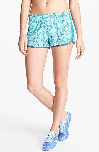 Nike 'Dash' Running Shorts Teal Tint/ Neo Turq Large