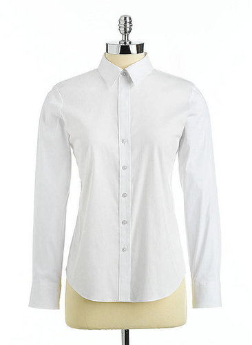 LORD & TAYLOR Perfect Button-Down Shirt