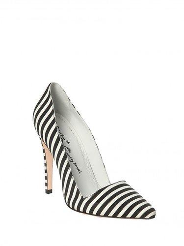 Dina Stripe Faille Heel