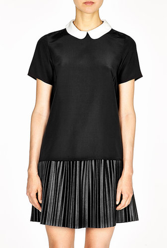Marc by Marc Jacobs Monochrome Alex Silk Peter Pan Collar Blouse