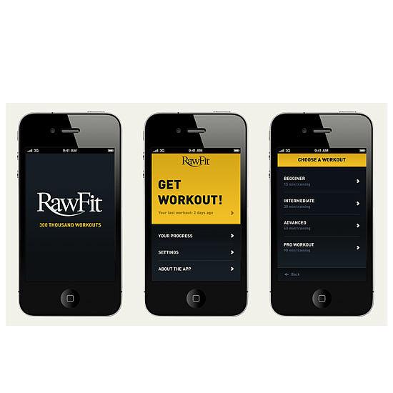 Rawfit Fitness App by Ricardo Riskalla