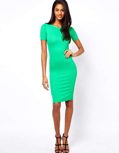 Oh My Love Textured Midi Dress
