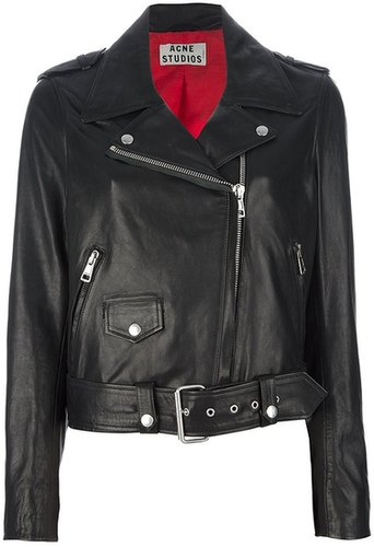 Acne 'Mape' leather jacket