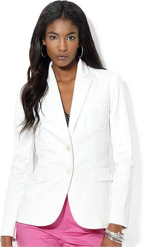 Lauren Ralph Lauren Petite Jacket, Embroidered Blazer