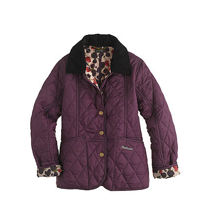 Girls' Barbour Printed Summer Liddesdale Jacket ($139)