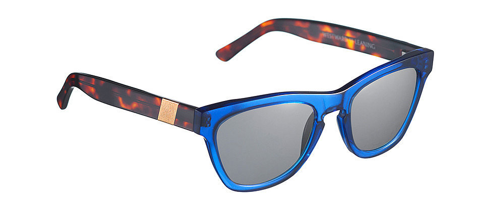 Celebrity-favorite sunglasses label Westward Leaning just launched a new Summer collection of two-toned styles, and this Louisiana Purchase pair ($195) features two of my favorite colors: cobalt and tortoise. The result is the perfect mix of chic and cool. They'll definitely get the attention they deserve.  — Melody Nazarian, associate editor