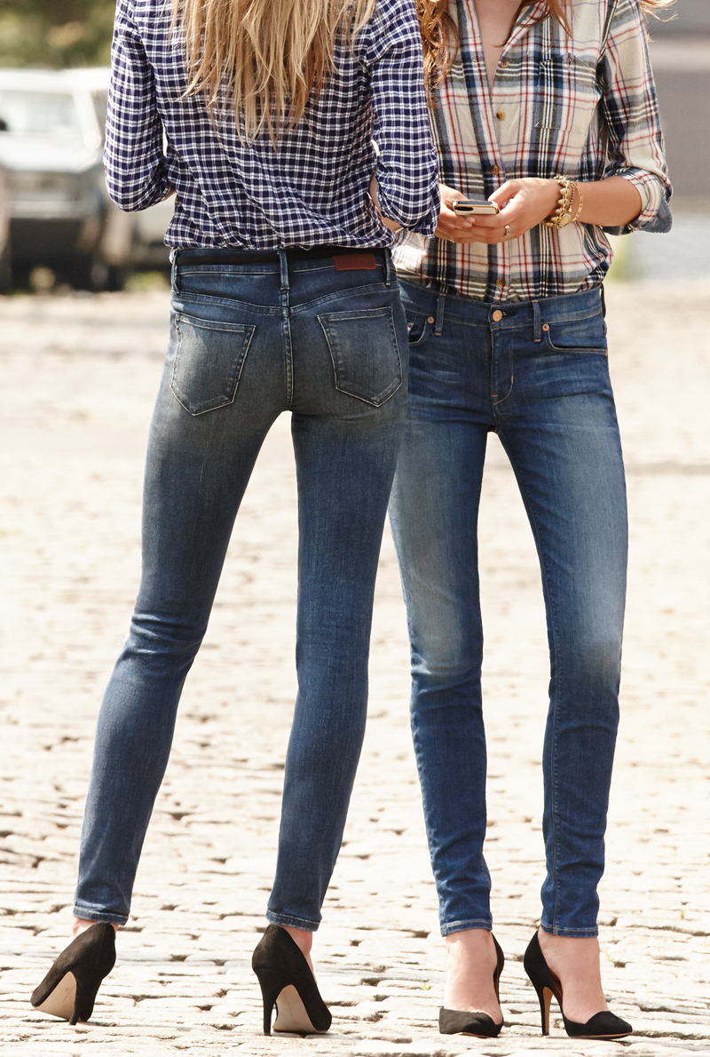 The right kind of wash makes for a pair of jeans that look perfectly lived in.