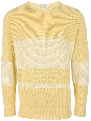 Australian By L'alpina Vintage striped knit sweater