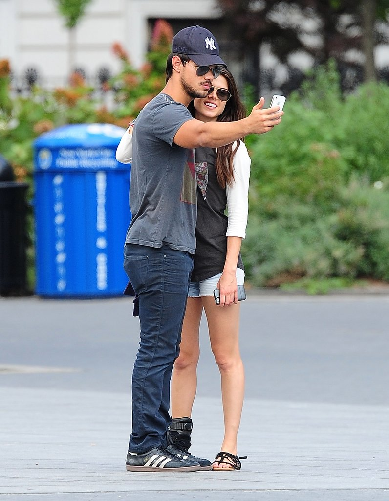 Taylor Lautner took a ... Taylor Lautner Girlfriend