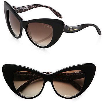 Roberto Cavalli Lohifushi Retro Cat's-Eye Sunglasses