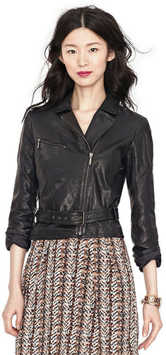 Amber Leather Jacket