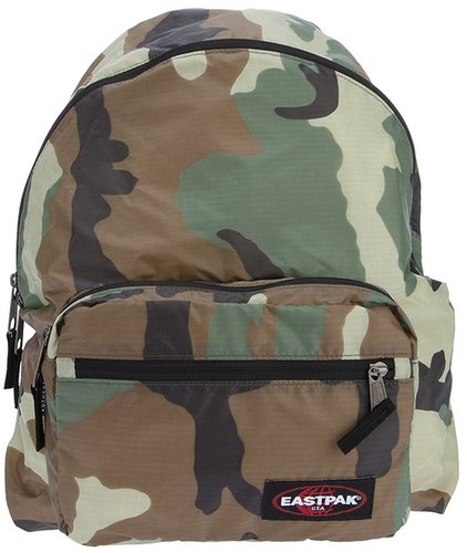 Eastpak camouflage print backpack