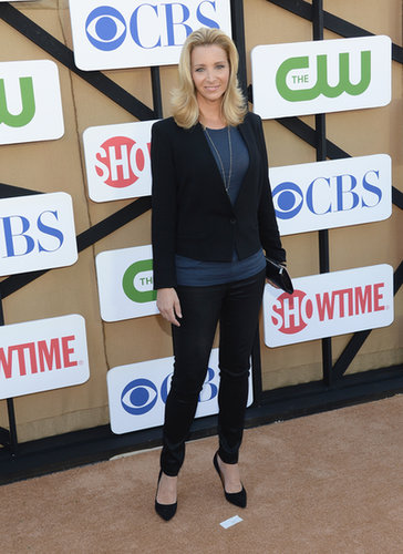 Lisa Kudrow was among the many attendees at the Summer TCA Press Tour in LA.