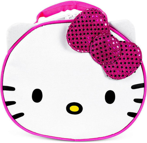 Hello Kitty Kids Lunch Bag, Girls or Little Girls Round Face Lunch Kit