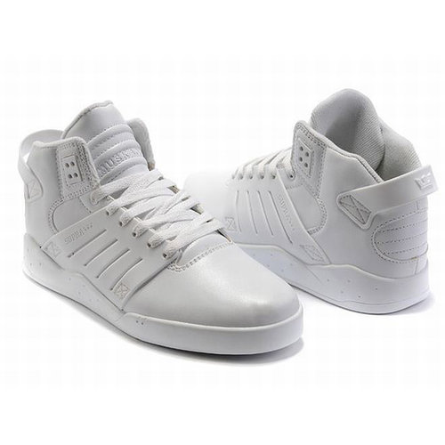 Supra Skytop III All White Men