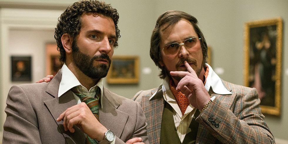 American Hustle Trailer: Bradley Cooper and Jennifer Lawrence Steal and Swing in the '70s