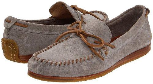 Frye - Austin Tie (Grey/Suede) - Footwear