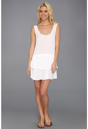 BCBGeneration - Low Back Dress (White) - Apparel