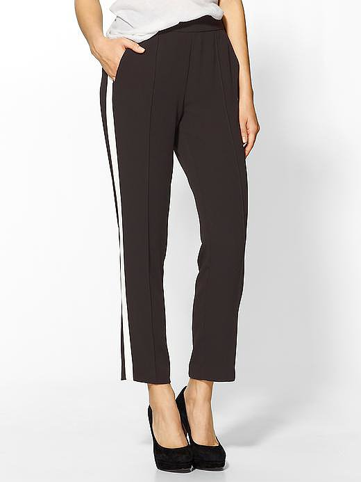 If you're tired of your trusty black pants, try a tuxedo version ($28, originally $69) instead.