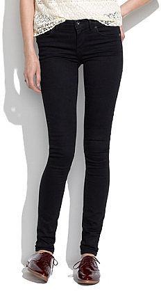 Skinny skinny jeans in black frost