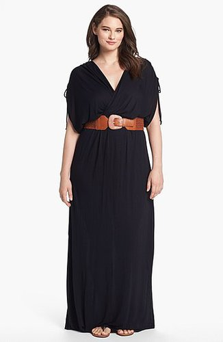 FELICITY & COCO Belted Maxi Dress (Plus Size) (Nordstrom Exclusive)