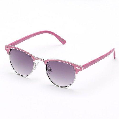 Mudd clubmaster enamel round sunglasses