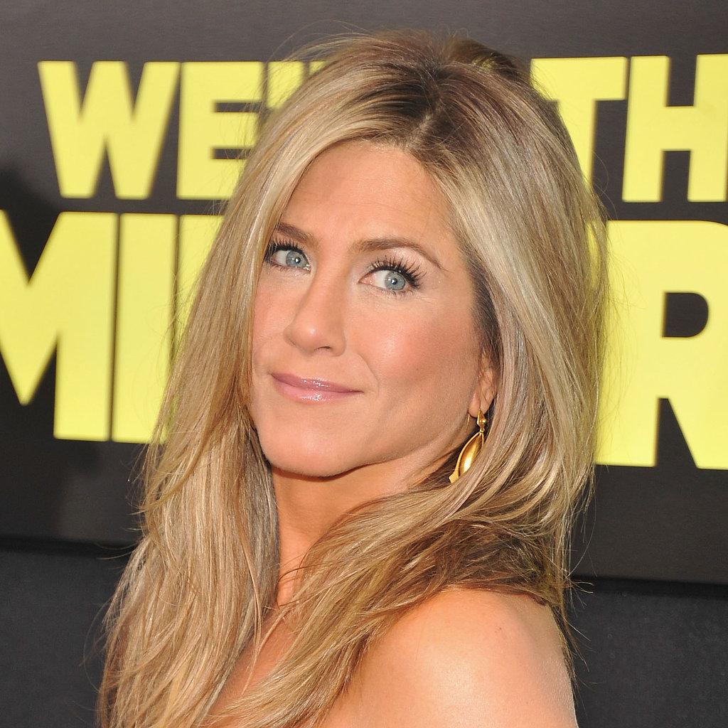 Jennifer Aniston Makeup | Meet the Millers Premiere ... Jennifer Aniston Makeup
