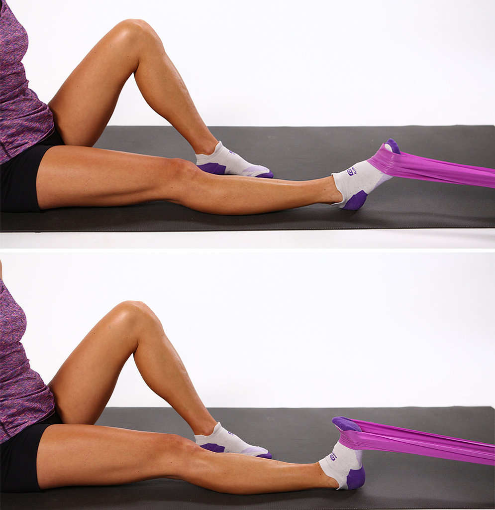 Weak Ankles: Dorsi Flexion With Resistance Band