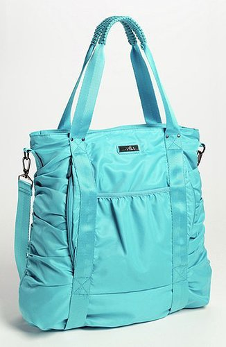 Zella Gathered Tote Blue Lagoon