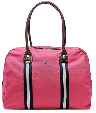 Tommy Hilfiger Women's Canvas Travel Tote