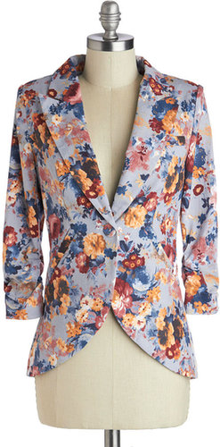 Fine and Sandy Blazer in Floral
