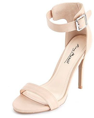 Ankle-Strap Single Sole Pump