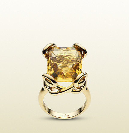 Horsebit Cocktail Ring