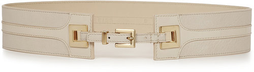 Valerie PATENT INLAY WAIST BELT