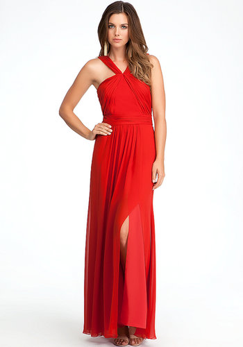 Jennifer Cross Strap Gown