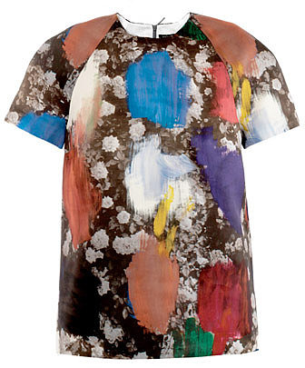 Christopher Kane Dutch-print top