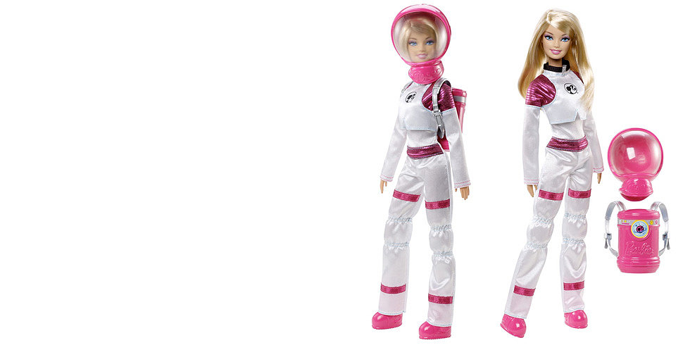 Barbie Takes Her Trademark Pink to the Red Planet