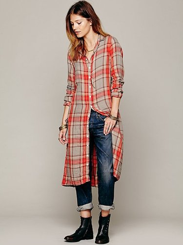 CP Shades Plaid Maxi