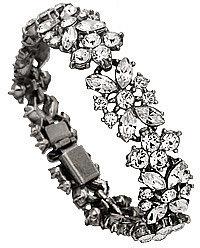 Ben Amun Crystal Flower Bracelet