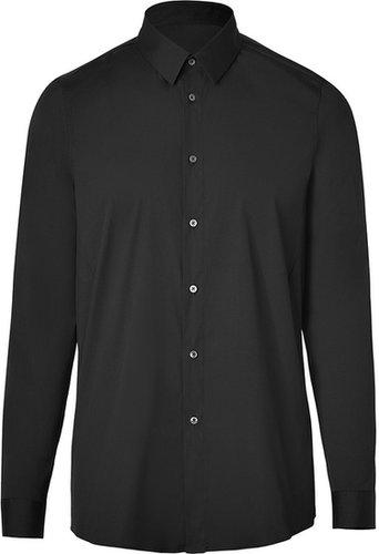 Jil Sander Black Stretch Cotton Shirt